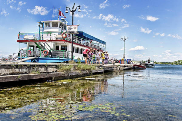Island Princess At Harbour Dock Poster