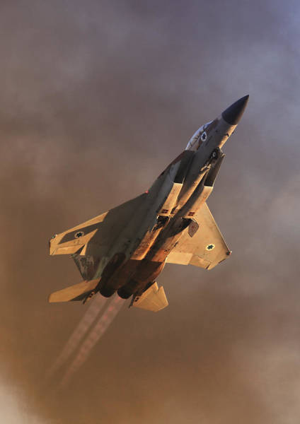 Israeli Air Force F-15i Poster