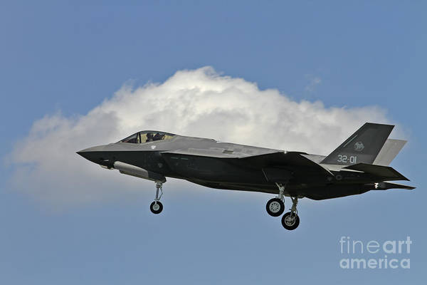 Italian Air Force F-35 Lightning II First Flight Poster