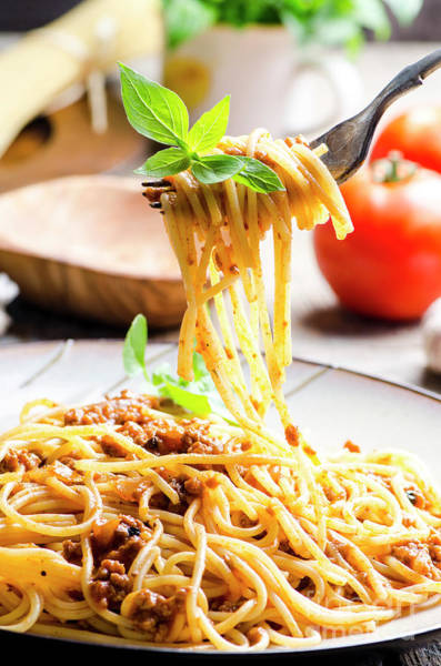 Italian Spaghetti Bolognese Poster