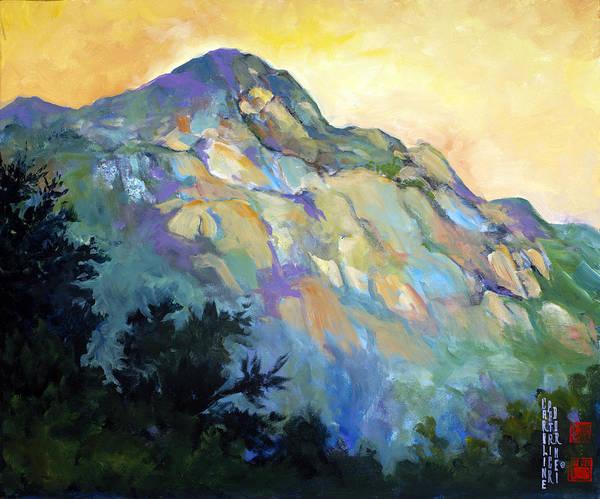 Jade Mountain Poster
