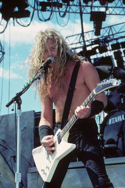James Hetfield Of Metallica Poster