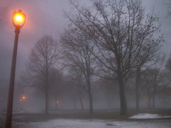 January Fog 3 Poster