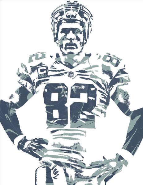 Jason Witten Dallas Cowboys Pixel Art Poster