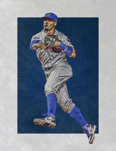 Javier Baez Chicago Cubs Art Poster