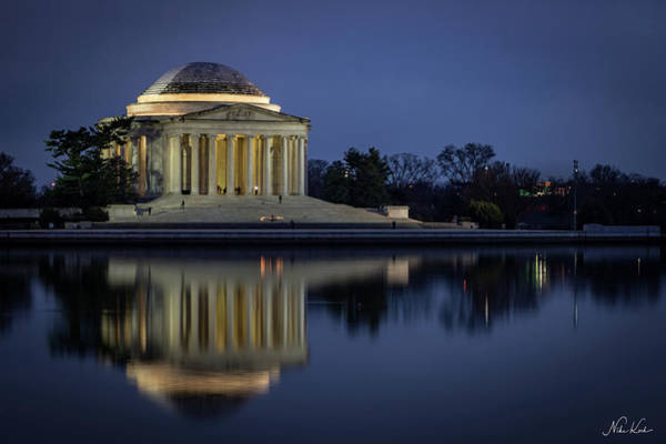 Jefferson Reflecting Poster