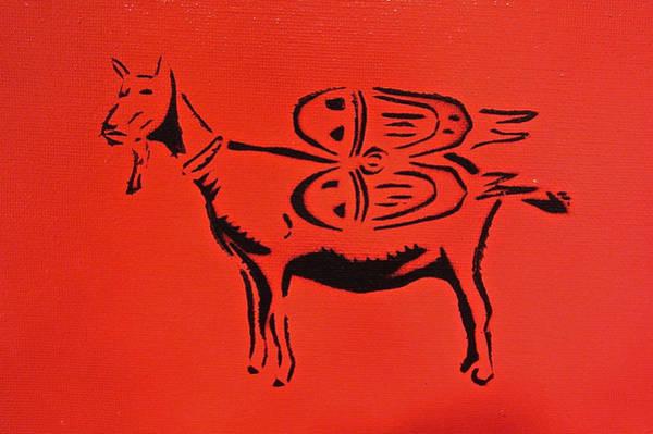 Jetpack Goat Poster