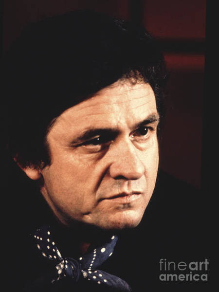 Johnny Cash The Man In Black Poster