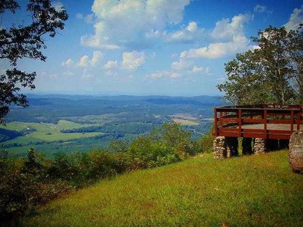 John's Mountain Overlook Poster