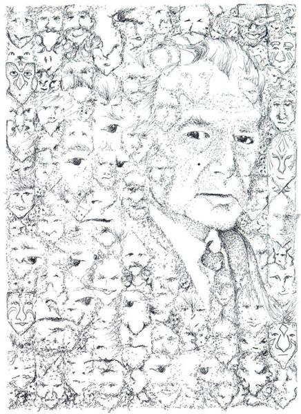 Juan Rulfo Sombra De Arreguin Poster