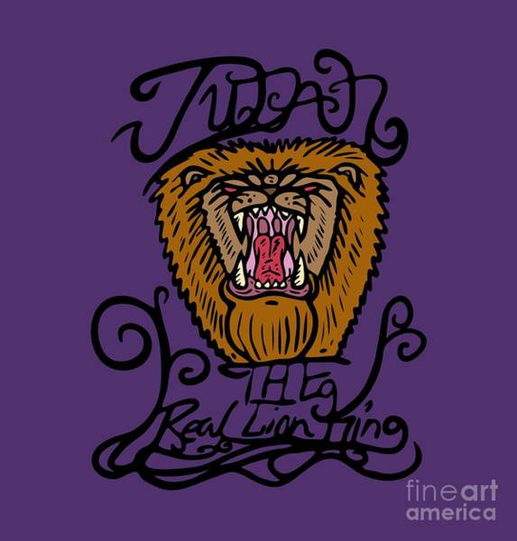 Judah The Real Lion King Poster