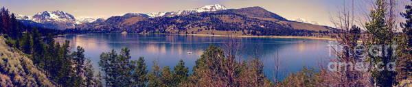 June Lake Panorama Poster
