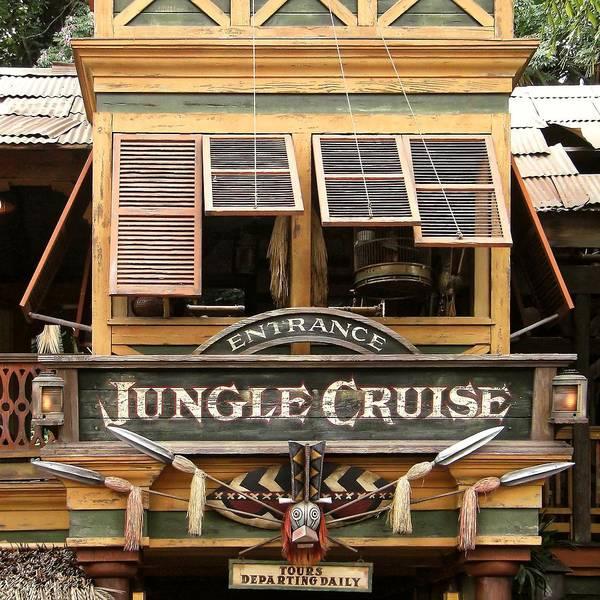 Jungle Cruise - Disneyland Poster