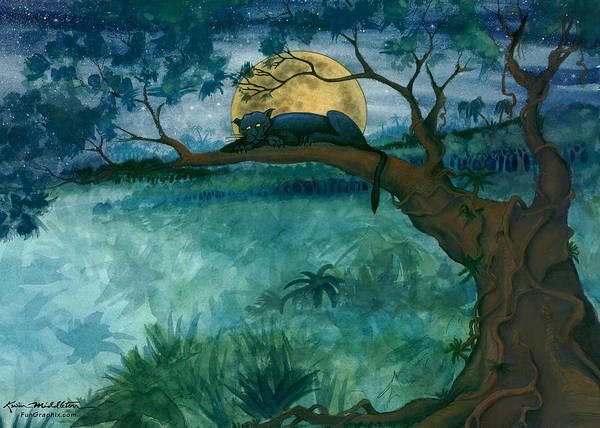 Jungle Panther Poster
