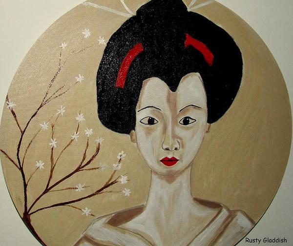Kabuki Girl Poster