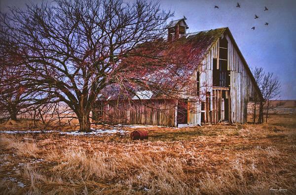 Kansas Countryside Old Barn Poster