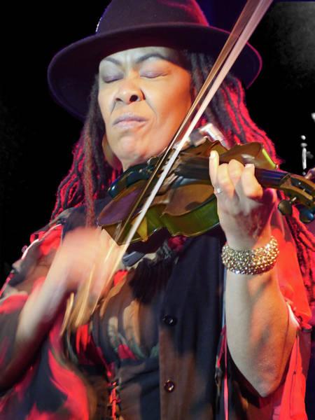Karen Briggs 2017 Hub City Jazz Festival - In The Moment Poster