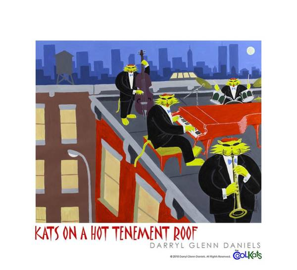 Kats On A Hot Tenement Roof Poster