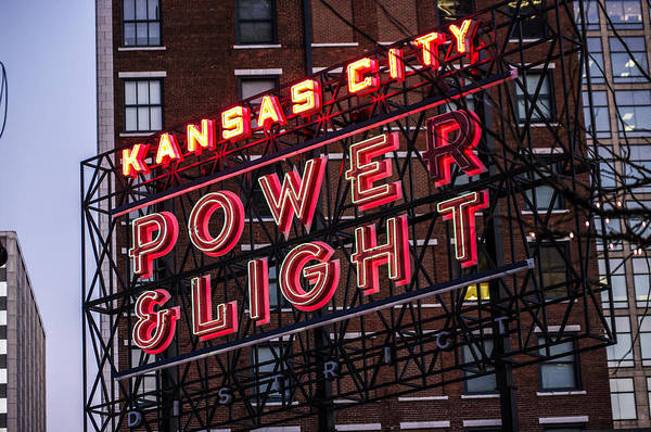 Kc Power And Light Poster