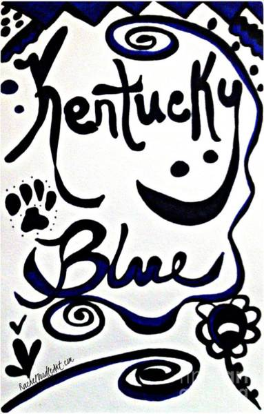 Kentucky Blue Poster