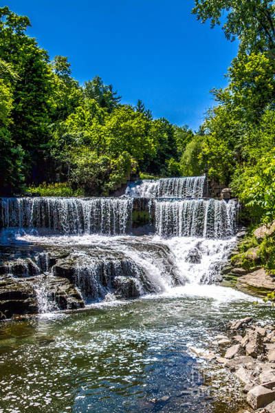 Keuka Outlet Waterfall Poster