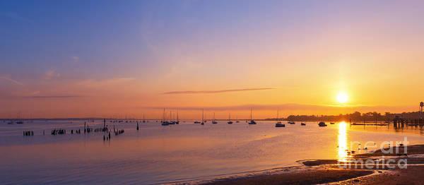 Keyport Harbor Sunrise  Poster