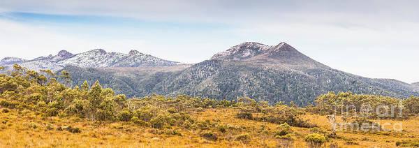 King William Range. Australia Mountain Panorama Poster