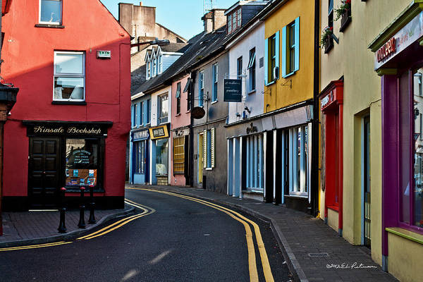 Poster featuring the photograph Kinsale Street by Edward Peterson