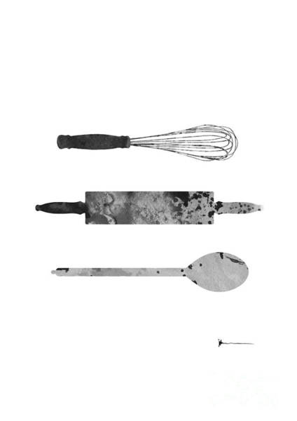 Kitchen Utensils Set Kitchen Decor Poster