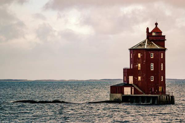 Kjeungskjaer Lighthouse Norway Poster