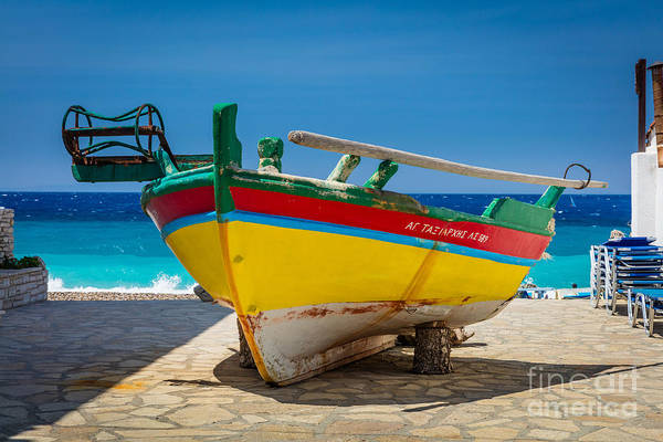 Kokkari Boat Poster