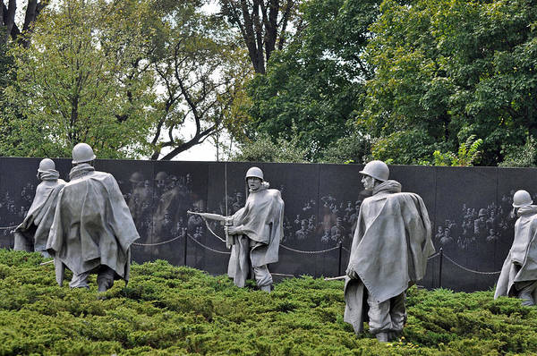 Korean War Memorial 4 Poster