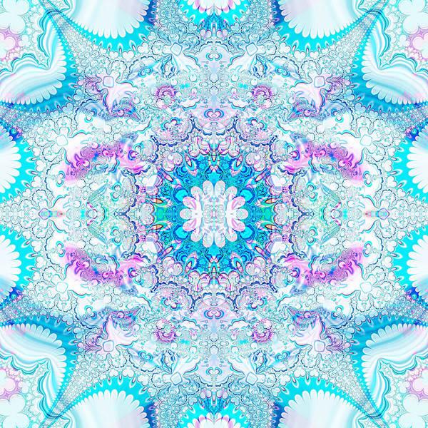 Lacy Mandala Poster