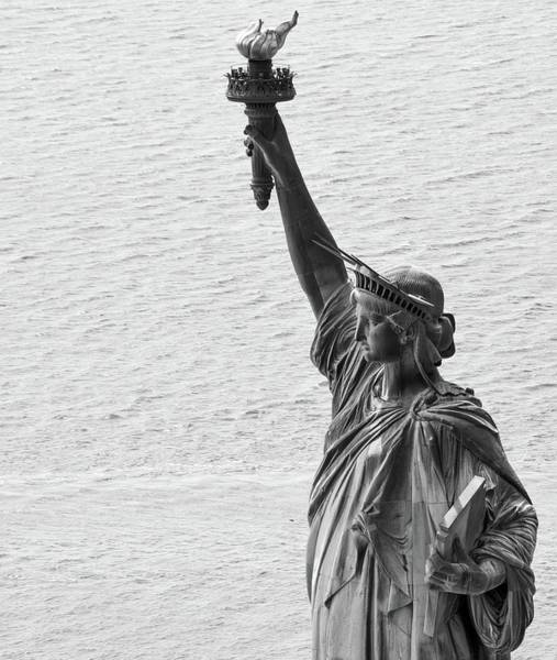 Poster featuring the photograph Lady Liberty by Rand
