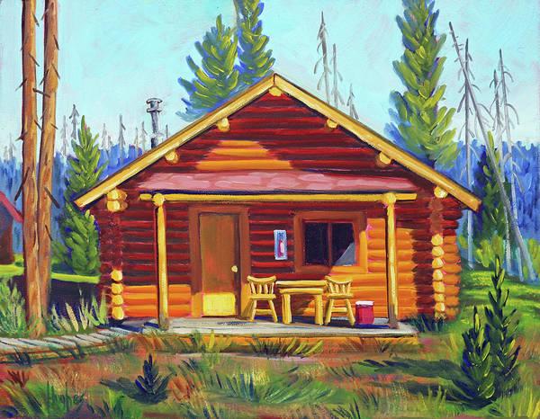 Lake Cabin Poster
