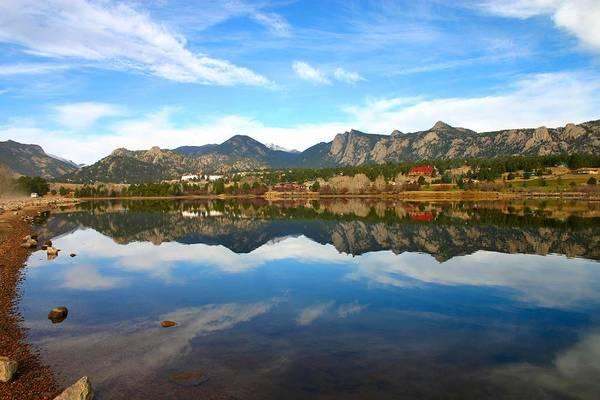 Lake Estes Reflections Poster