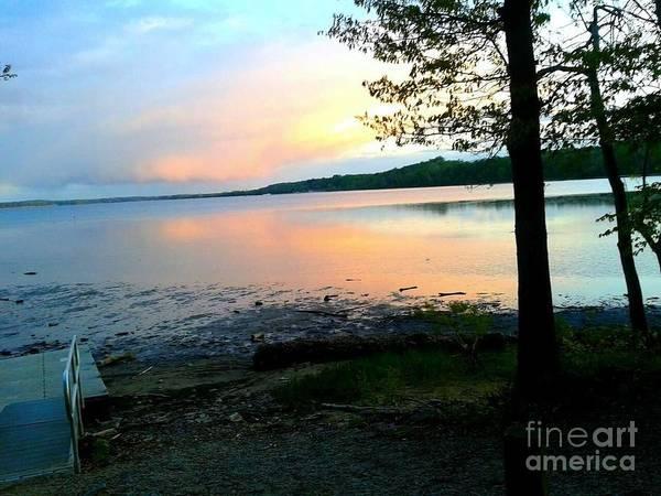 Lake In Virginia Poster