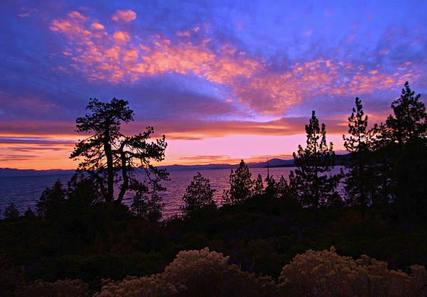 Lake Tahoe Crescendo Poster