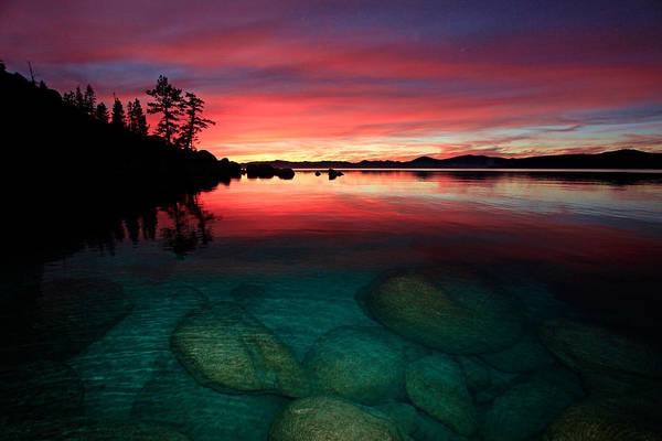 Lake Tahoe Jewels Poster