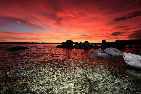 Lake Tahoe Liquid Dreams Poster