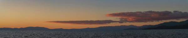 Lake Tahoe South Shore Panorama - 1 Poster