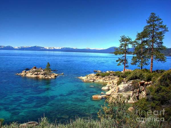 Lake Tahoe State Park Nevada Poster