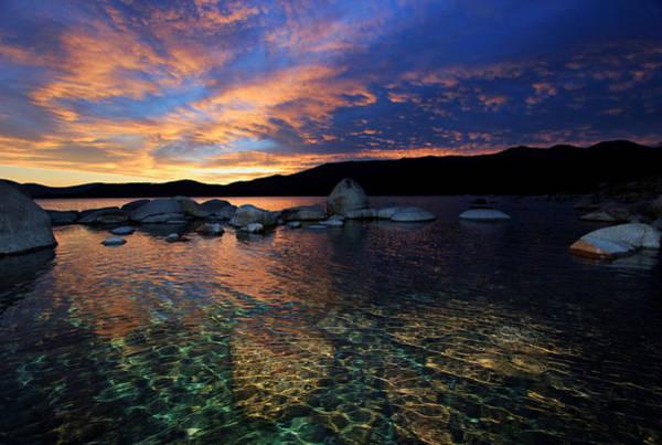 Lake Tahoe Sundown Poster