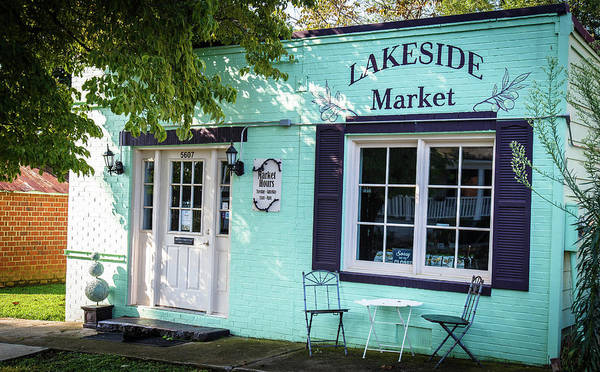 Lakeside Market Poster
