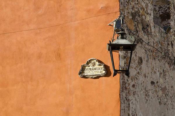 Lamp At The Corner. Poster