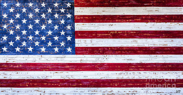 Land Of The Free,american Flag Canvas Print,photographic Print,art Print,framed Print,greeting Card, Poster
