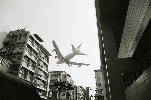 Landing In Hong Kong Poster