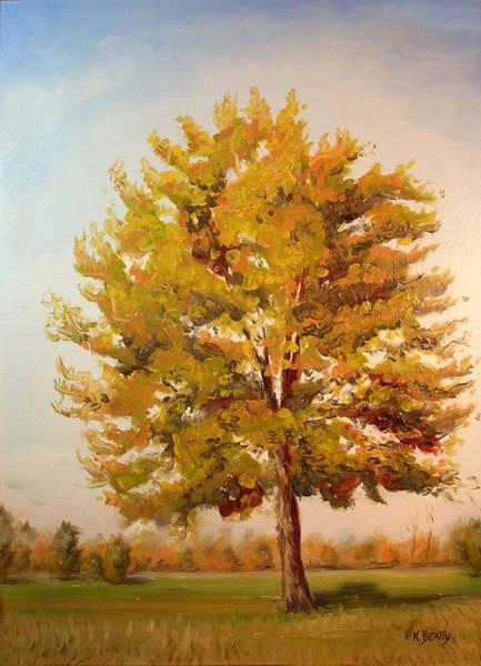 Landscape Oil Painting Poster