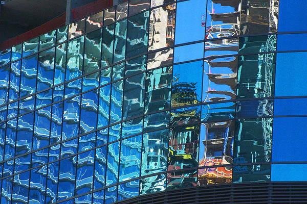 Las Vegas City Center Reflection Poster