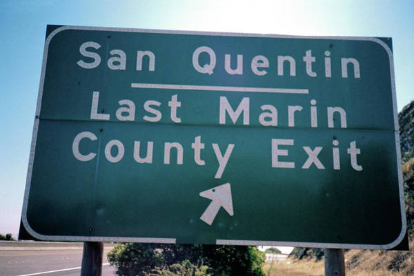 Last Marin County Exit Poster
